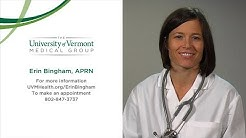 Erin Bingham, APRN, Primary Care Nurse Practitioner, University of Vermont Medical Center