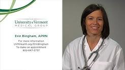 Erin Bingham, APRN, Primary Care Nurse Practitioner, University of Vermont Medical Center