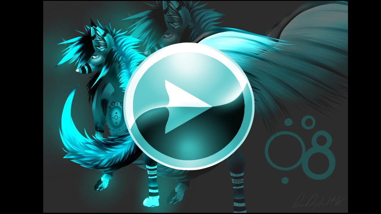 Anime Wallpaper Cute Gif Oc Wolf Speedpaint Trixter Youtube
