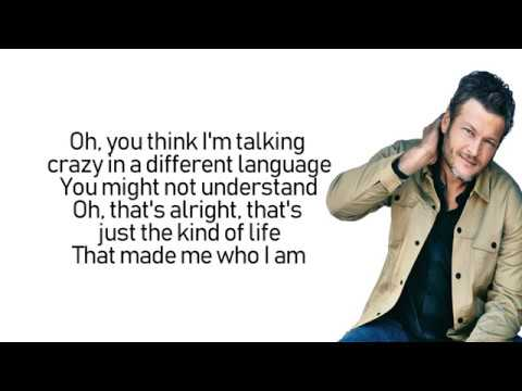 Blake Shelton - I Lived It (Lyrics | Lyric Video)