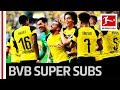 Dortmund s Dramatic 7 Goal Thriller   Super Subs Alcacer   G  tze Save BVB Again MP3