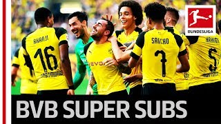 Dortmund's Dramatic 7-Goal Thriller - Super Subs Alcacer & Götze Save BVB Again