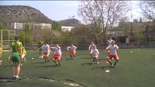 Урок гандбола