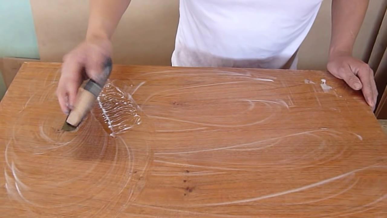 Como se lija con agua un mueble youtube - Como lijar una puerta ...