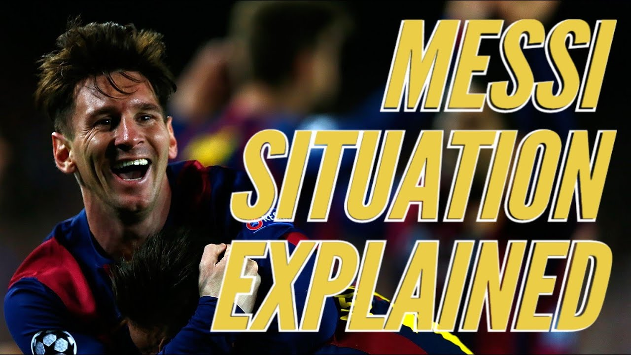 Messi Situation at Barcelona Explained | Goodbye Messi