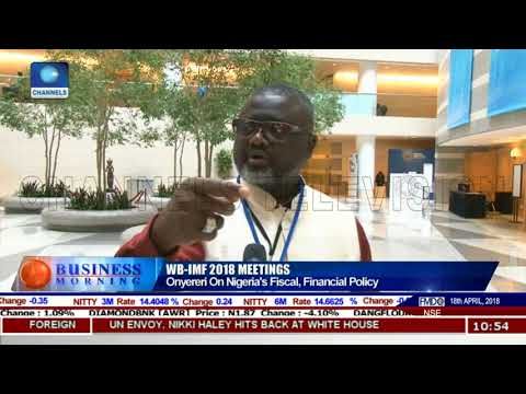 Onyereri On Nigeria's Fiscal, Financial Policy | Business Morning |