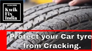 How to protect your car tyre from Cracking