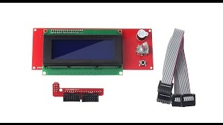 Installing the RepRapdiscount smart controller 2004 LCD (RED)