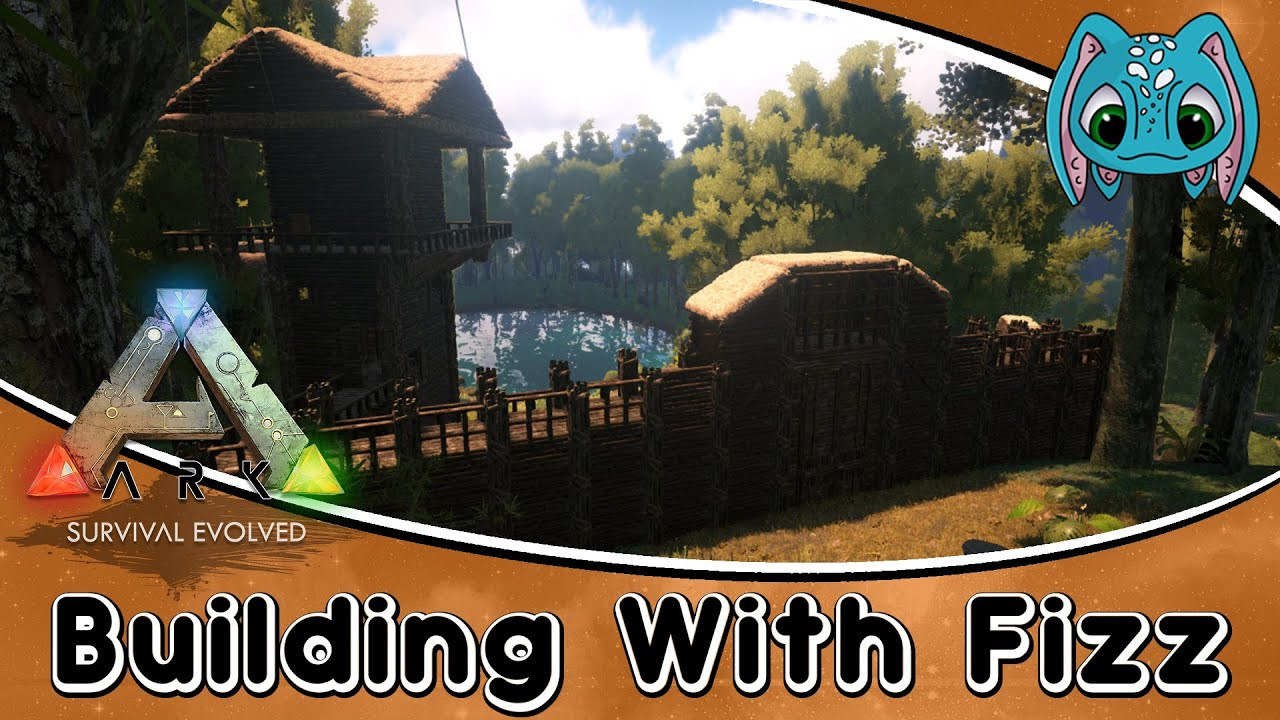High Quality ARK:Survival Evolved Building W/ Fizz :: A New Wall Idea!!   YouTube
