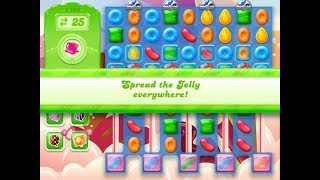 Candy Crush Jelly Saga Level 1103 (3 stars, No boosters)