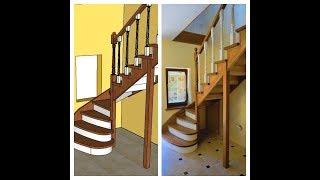як правильно зробити сходи в дерев'яному будинку