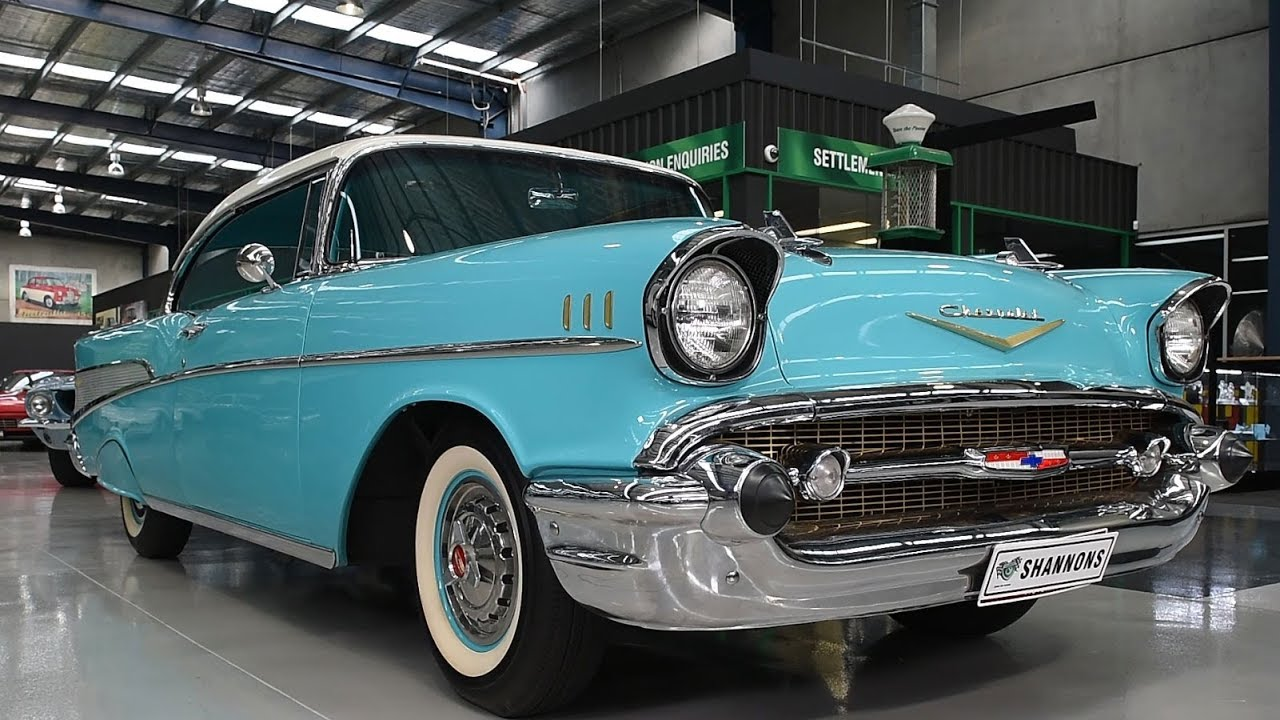 1957 Chevrolet Belair Sports Coupe (LHD) - 2017 Shannons Melbourne Spring Classic Auction
