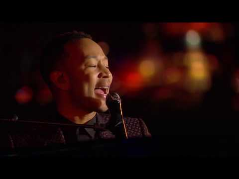 John Legend performs Beauty and the Beast for Disneyland Paris 25th Anniversary