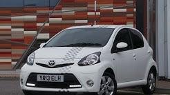 2013 Toyota AYGO 1.0 VVT-I FIRE 5DR In White