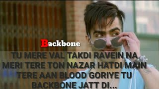 Tu mere val takdi ravein 😘(Backbone) ||A Punjabi romantic song|| Whatsapp Video Status