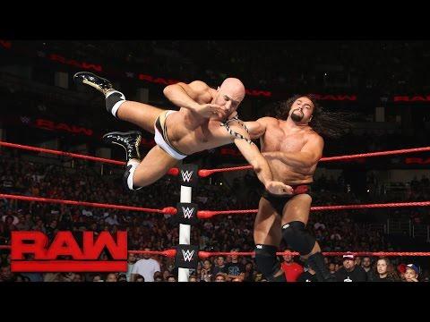 Cesaro vs. Rusev - United States Championship Match: Raw, Aug. 8, 2016