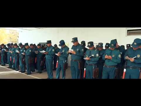 День сотрудников внутренних дел | УБДД ГУВД Ташкента