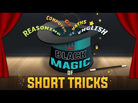 Black Magic of Short Tricks | Reasoning Tricks | Must Watch | 12:00 pm