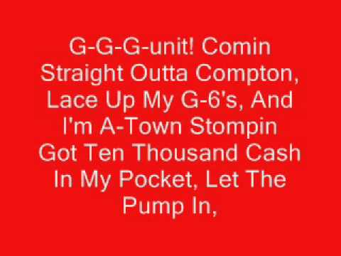 Stomp Remix - Young Buck Ft The Game And Ludacris With Lyrics