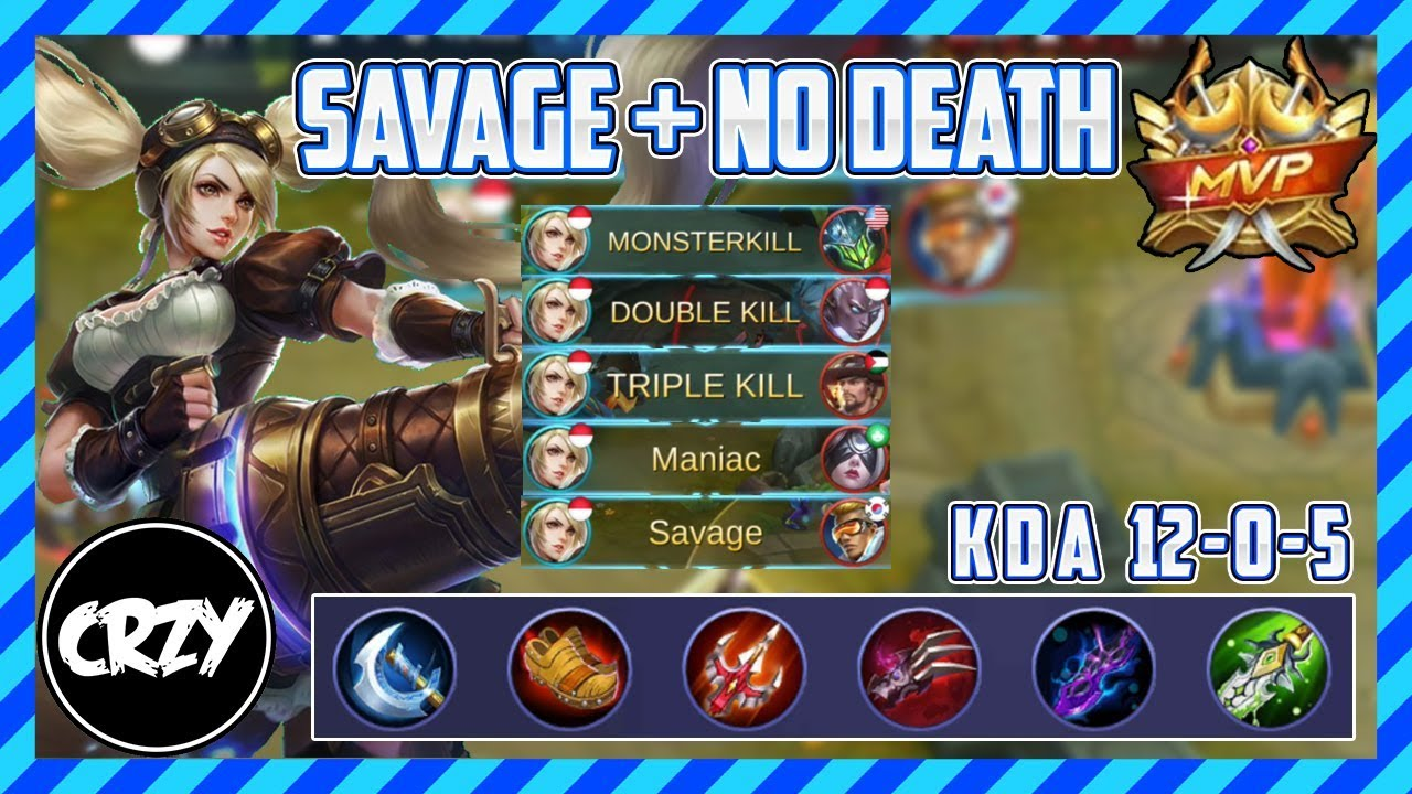 Best Layla Build For Newbie Savage No Death Mobile
