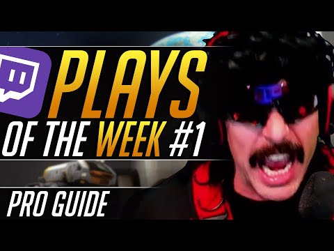 BEST TWITCH PLAYS Of The WEEK #1: Overwatch Moments, Highlights and Funny Moments