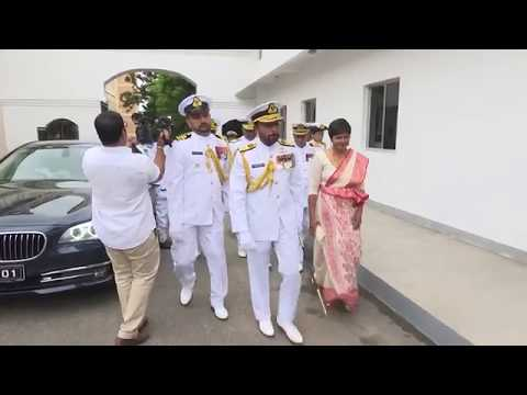 Vice Admiral Travis Sinniah Assumes Duties as the 21 st Commander of the Navy on 22nd August 2017