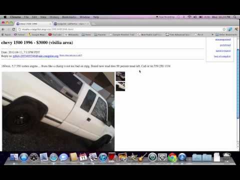 Craigslist Visalia Tulare Used Cars - Pickup Trucks For Sale By Owner Popular