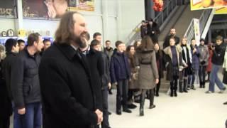г. Никополь Рождественский флешмоб торгово-развлекательный центр