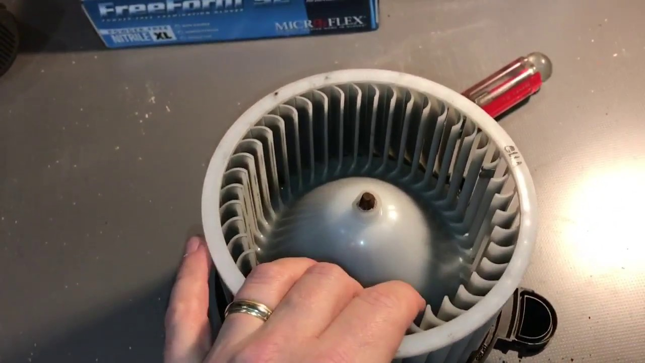 hyundai santa fe hvac blower motor removal and repair