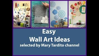 Easy Wall Art Ideas   Creative Wall Decor Ideas