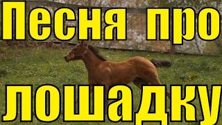 Детская песня про молодую лошадку Ускакала в поле молодая лошадь