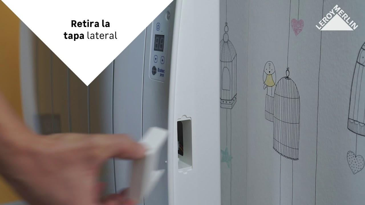 Funcionamiento Emisor Electrico Equition Ecotec Pro Leroy Merlin