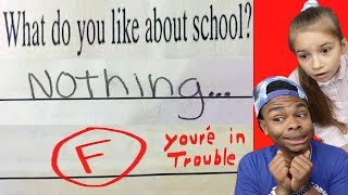 Funniest KID TEST Answers Part 24 ft Karolina Protsenko