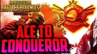 PUBG MOBILE | ACE to CONQUEROR | RUSH GAMEPLAY | ONLY CHICKEN DINNER 😍I AM BACK😍