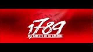 Au Palais Royal Paroles/lyrics 1789 Les Amants de La Basille/ David BAN