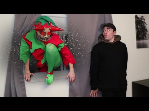 EVIL ELF BREAKS INTO MY HOUSE AT 3 AM!! (YOU WON'T BELIEVE THIS)