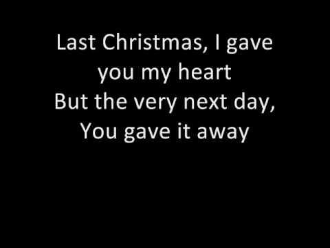 White Christmas Youtube.Wham Last Christmas With Lyrics D Youtube