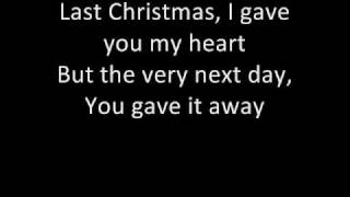 Wham - Last Christmas (with lyrics :D) thumbnail
