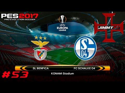 PES 2017 Liga Master #53 Liga Europa Benfica vs Schalke 04