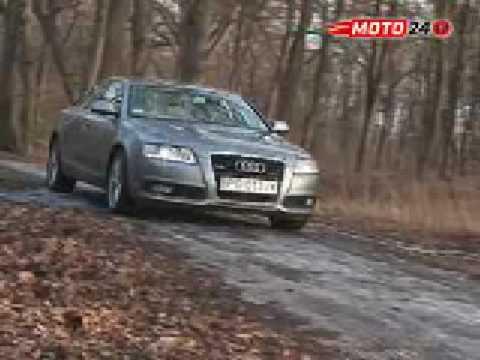 Nowe Audi A6 3.0 TDI Quattro - luksus na cztery koła moto24tv