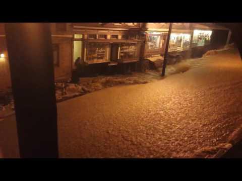 Floodwaters Rush Through Ellicott City, Maryland