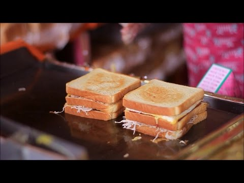 Korean street food 'Street Toast' : 부산대 길거리 토스트