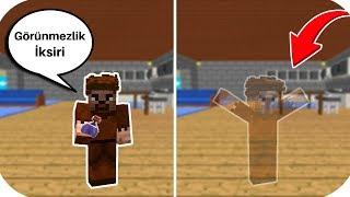 ARDA GÖRÜNMEZLİK İKSİRİ BULDU! 😱 - Minecraft