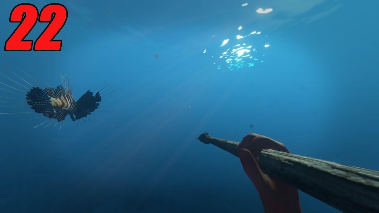LION FISH HUNTING | Stranded Deep #22