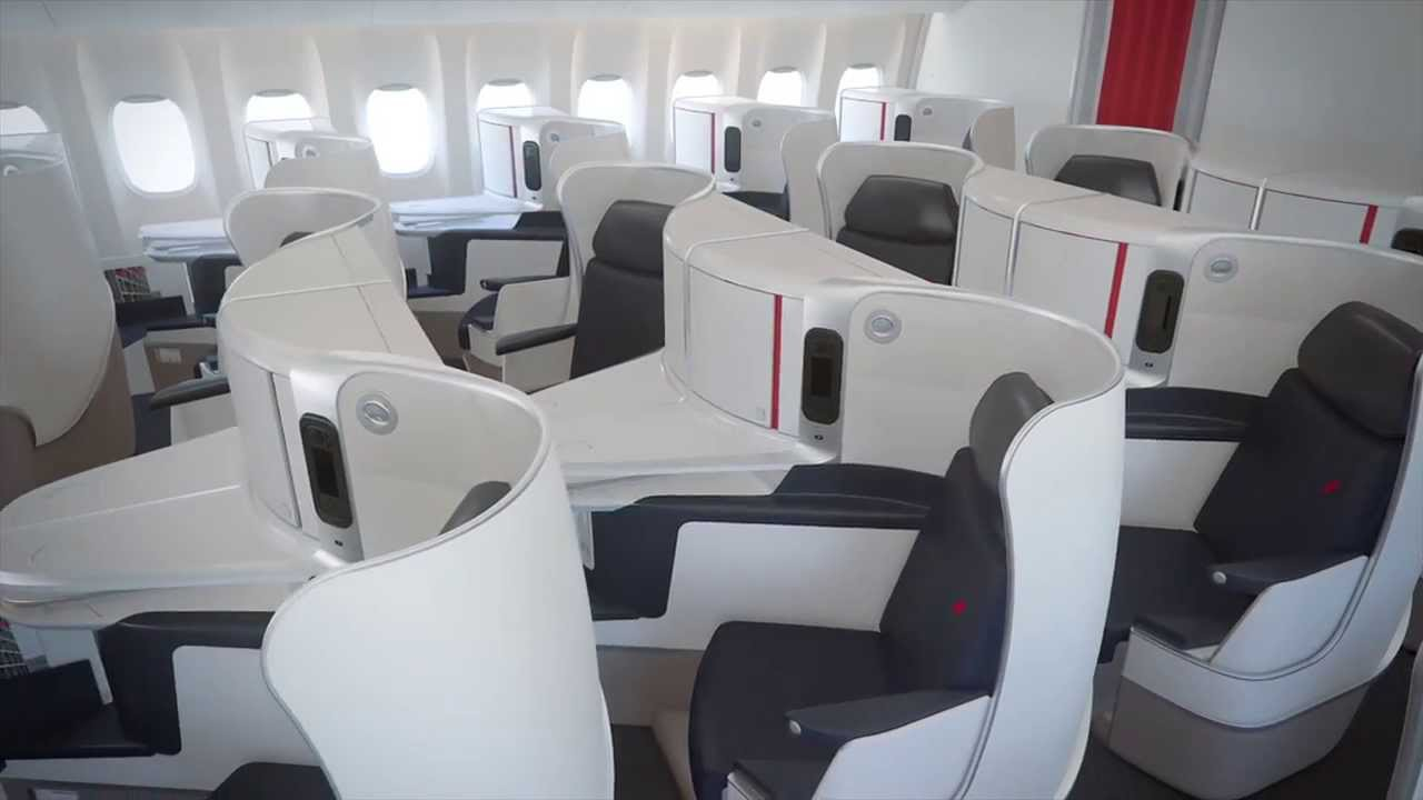 Air France New Business Class Youtube
