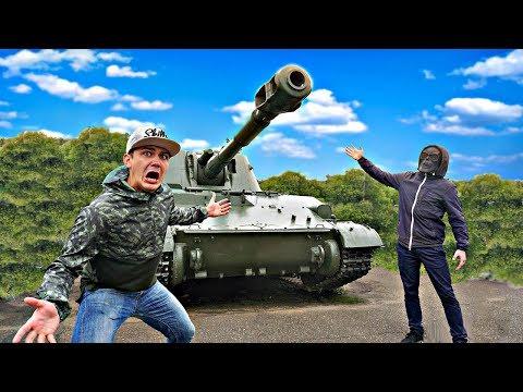 Мы были в шоке от того, что Скряга продал нам танк из даркнет