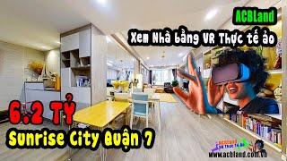 Xem nhà bằng công nghệ VR Thực Tế Ảo tại ACBLand | Sunrise City South 138m2 full nội thất 6.2 tỷ