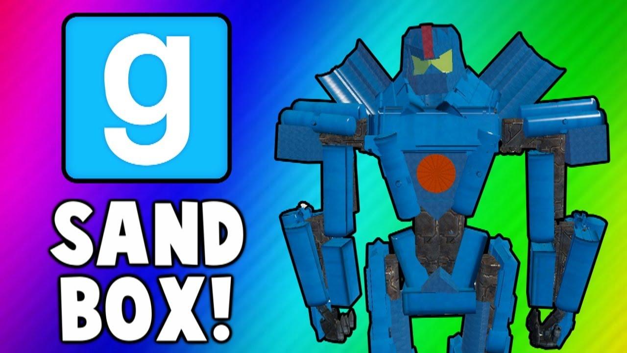 Fun box funny picture funny pic pic of fun funny image - Gmod Sandbox Funny Moments Robot Fails Catapult Delorean Fun Garry S Mod Youtube