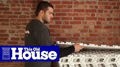 How to Install DIY Radiant Floor Heating |This Old House
