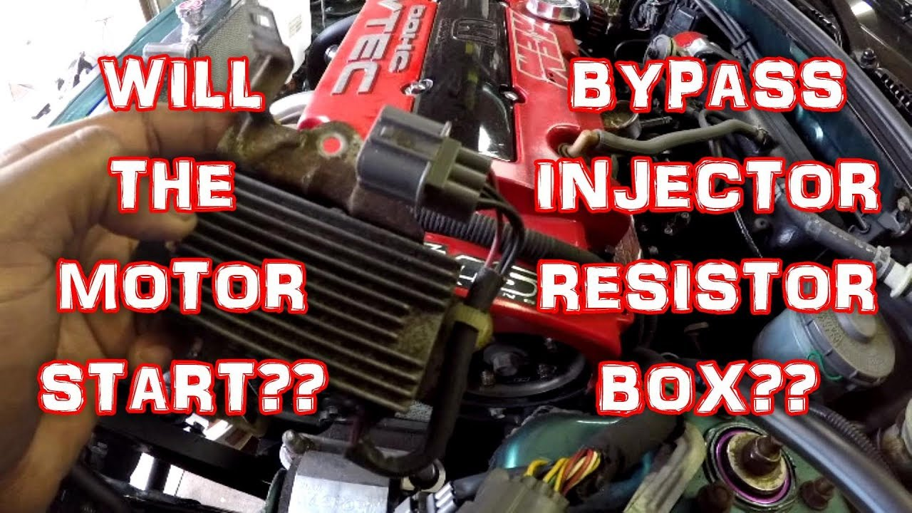 Fuel Injector Resistor Bypass | CB7 Proejct: Episode 7